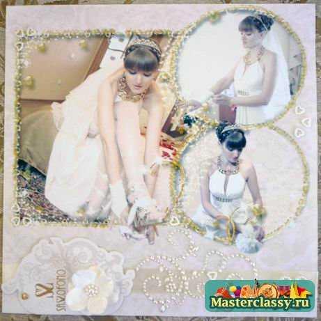 Скрапбукинг. Свадебный фотограф поможет оформить фотоальбом жениха и невесты
