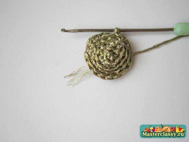 Вязание гламурных сережек. Мастер класс