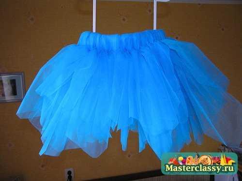 Как сшить детская пышная юбка