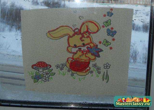 Мастер-класс по рисованию витражными красками по стеклу