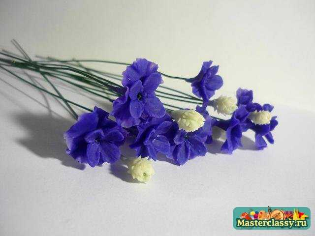 холодный фарфор мастер класс цветы