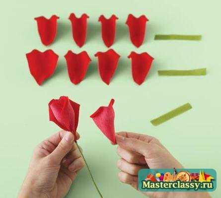 Как сделать из розу