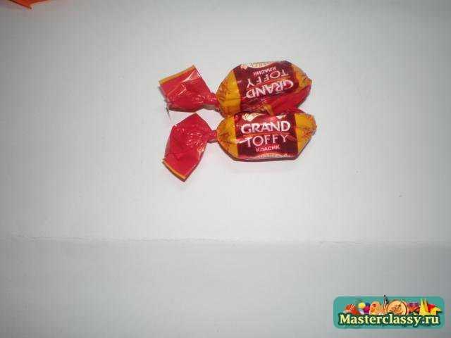 Букет из конфет Очарование. Мастер класс
