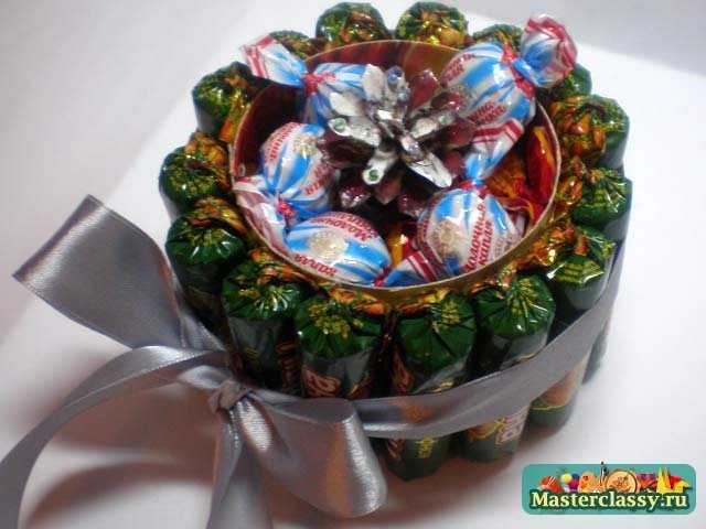 Букет из конфет Шкатулка изобилия Мастер класс