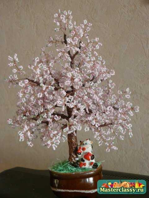 Как сделать цветущее дерево фото 950