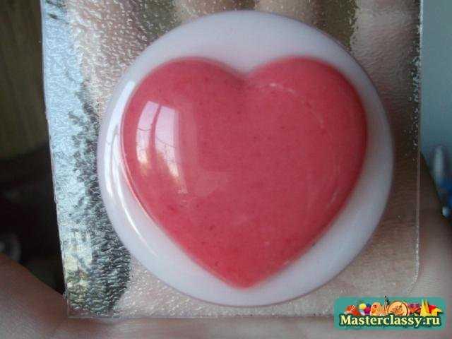 Мыло Шоколадное сердце. Мастер класс