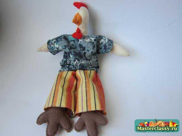 Петушок - Золотой гребешок своими руками. Мастер класс