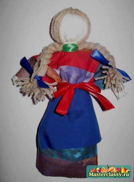 Как сделать косы для куклы - мотанки. Мастер класс