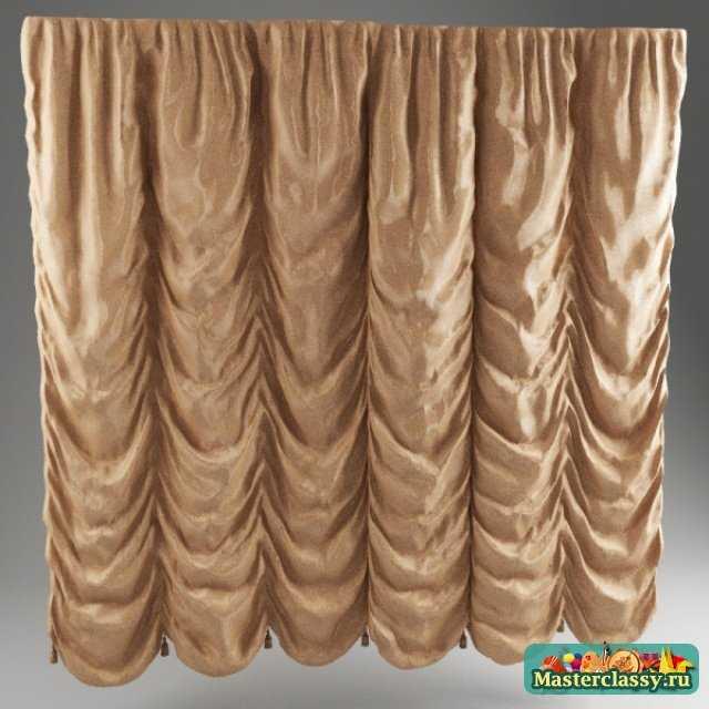 Пошив и расчет ткани на шторы