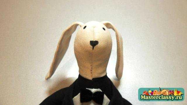 Пара зайцев своими руками. Мастер класс