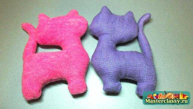 Лёгкие мягкие игрушки своими руками 2