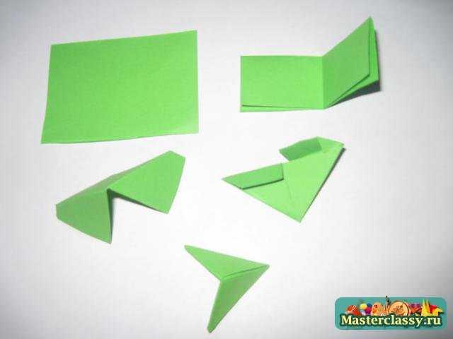 оригами дракон мастер класс