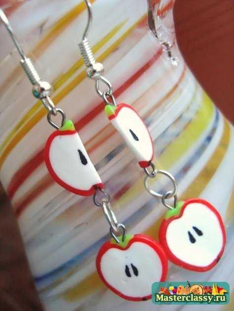 Яблочки ручной работы