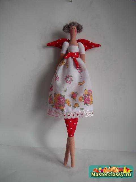 Кукла Тильда Цветочница. Мастер-класс и выкройка