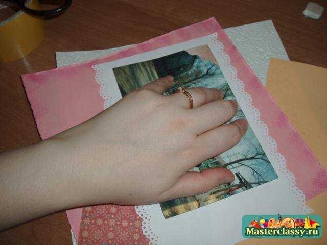 Фотоальбом для новорожденной девочки. Мастер класс