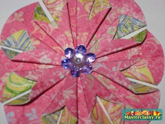 Открытка оригами. Мастер класс