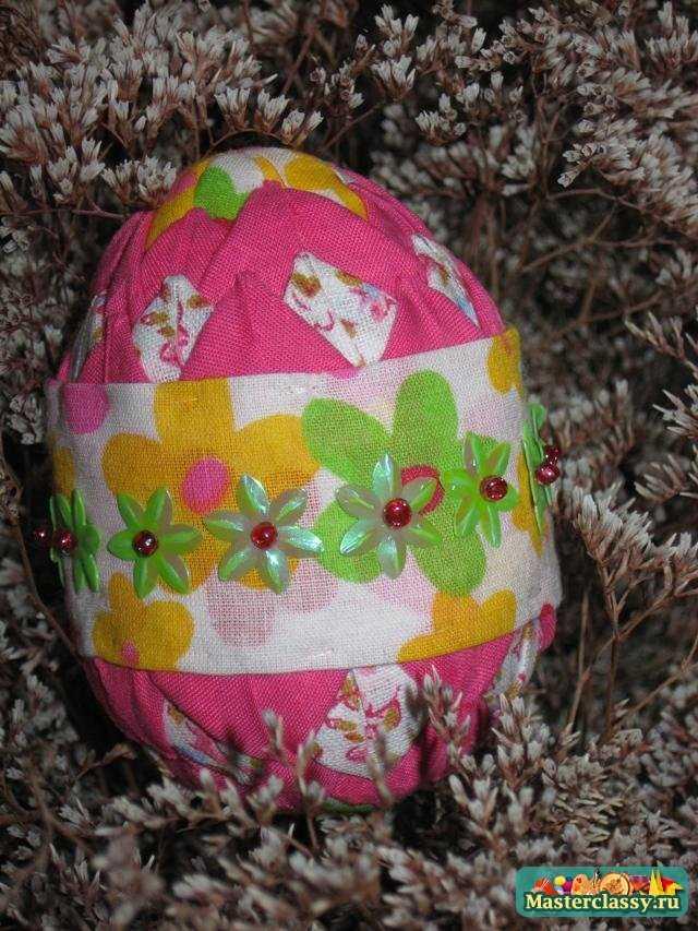 Декор Пасхального яйца. мастер класс