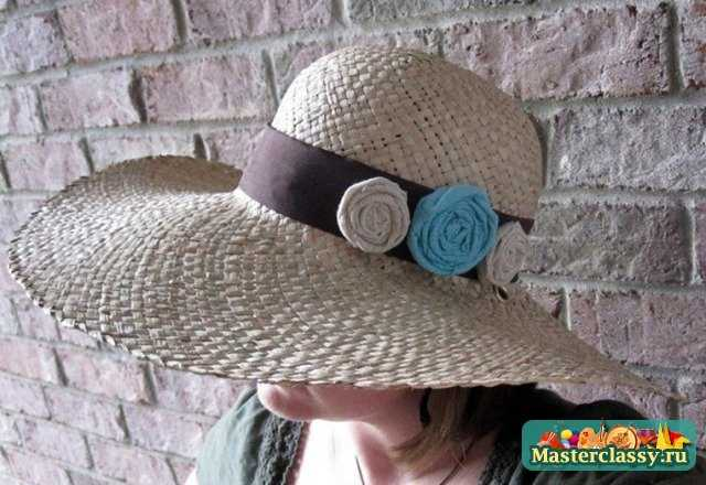 Декор шляпки для моря