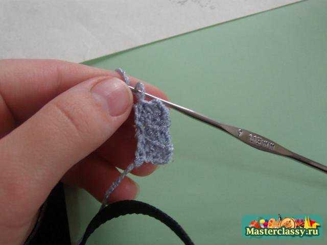 Вязание крючком. Бабочка. Мастер класс