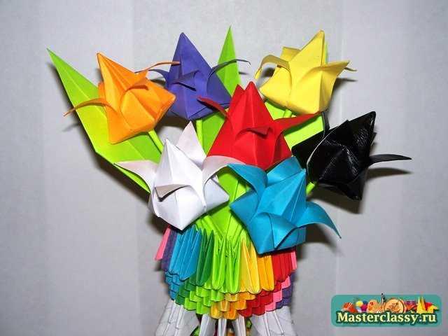 Как сделать букет из 5 тюльпанов, море цветов магазин коньково