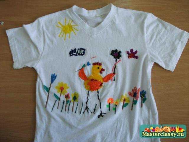 Мастер класс по рисованию красками Паффи по ткани