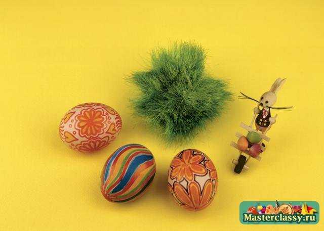 Пасхальные яйца своими руками