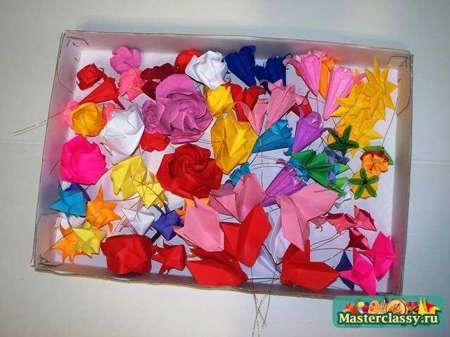 Крепление для венка оригами