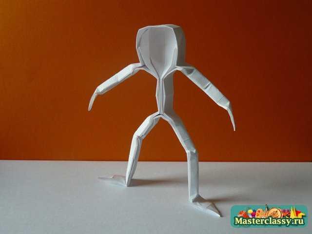 Оригами человек