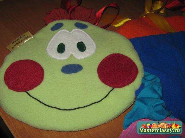 Бампер-карман на детскую кроватку. Гусеница. Мастер класс