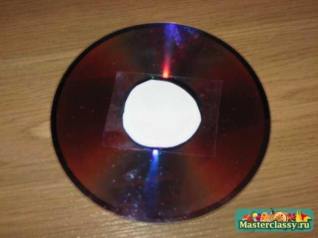 Декупаж CD диска. Мастер класс