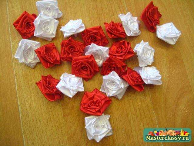 Розы для топиарий своими руками