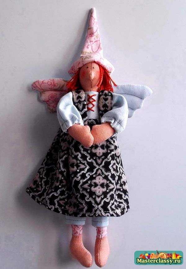 Кукла Тильда Птичница. Пошаговый мастер класс
