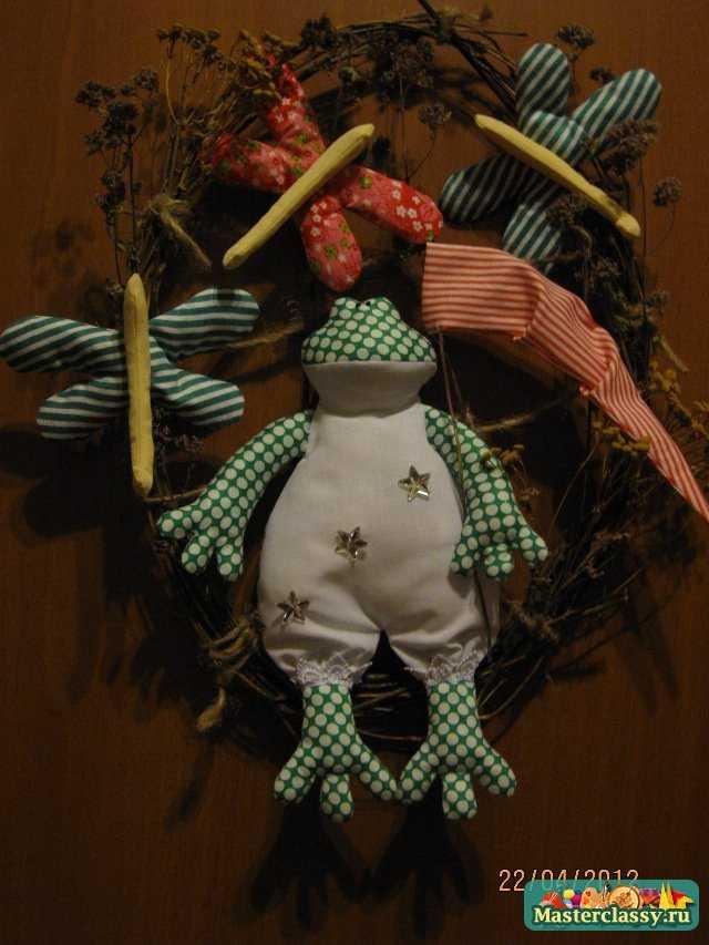 Композиция Тильда - Лягушка. Мастер Класс. Выкройка