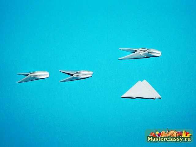 Сборка Катера оригами