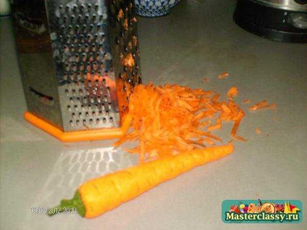Еда из фетра. Морковь. Мастер класс