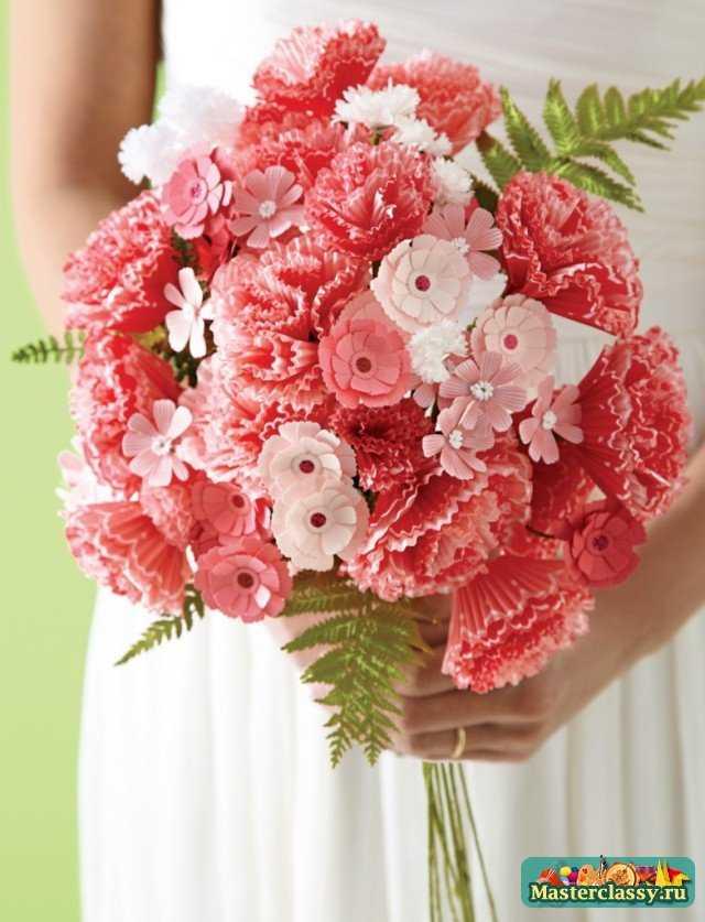 Поделки цветов из бумаги