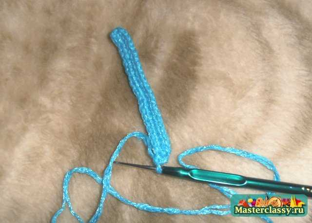 Вязаные сапоги крючком