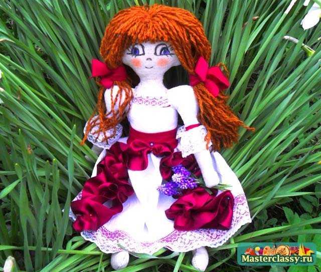 Поделки для сада. Цветочная фея – хранительница. Пошаговый мастер класс