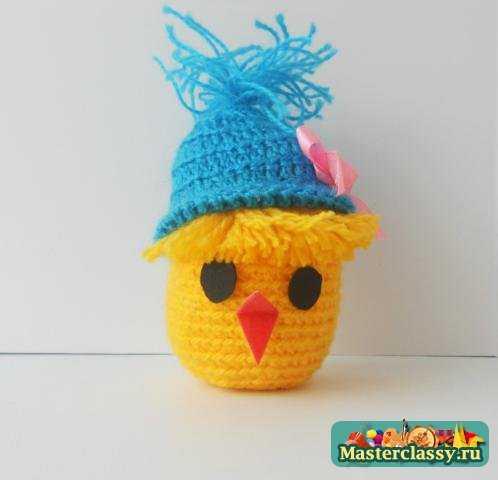 Мастер-класс по вязанию цыпленка в шапочке с пошаговыми фото