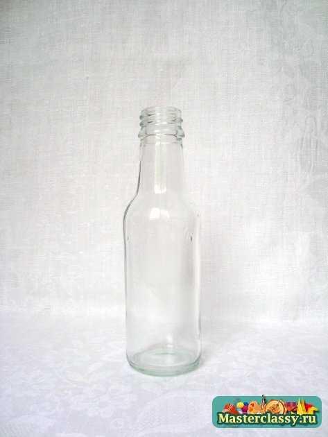 роспись бутылки Кошачьи мечты