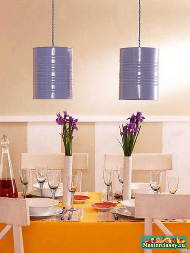 Идеи для создания оригинальных светильников своими руками