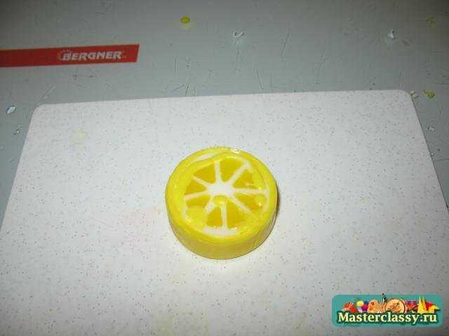 Мыло своими руками. Лимонно-ванильное пирожное. Мастер класс