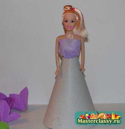 Кукла своими руками с конфетами