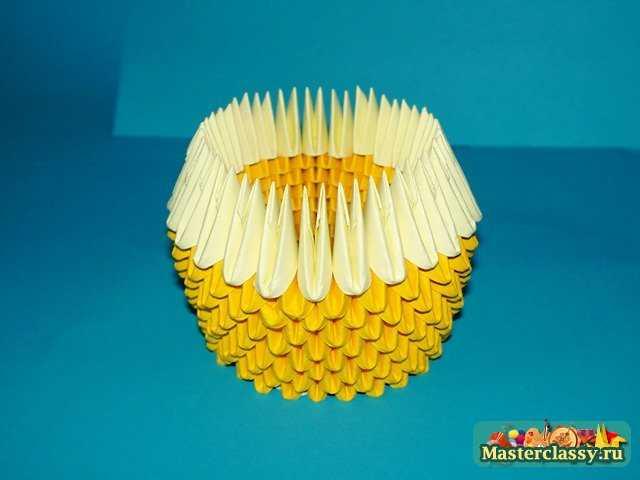Модульное оригами цыпленок схема сборки фото 646