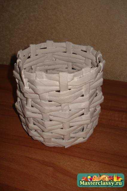 Корзины с газеты своими руками 81