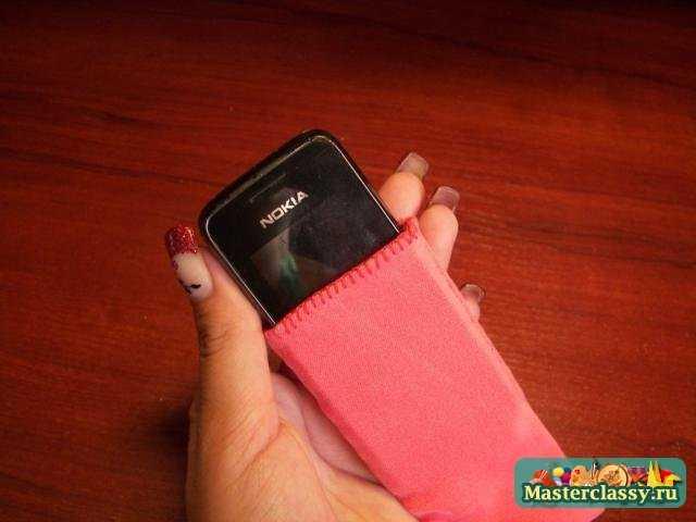 Коралловый чехол для мобильного телефона за 25 минут. Мастер класс с фото
