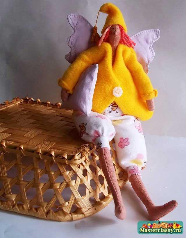 Кукла Тильда Сплюшка. Выкройка и пошаговый мастер-класс