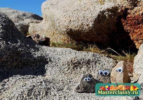 Поделки из камней. Мастер класс