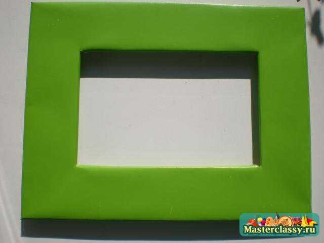 Мастер класс по фото рамкам из картона