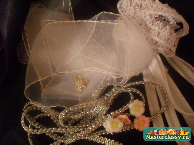 Свадебное шампанское Жених и Невеста. Мастер класс с пошаговыми фото
